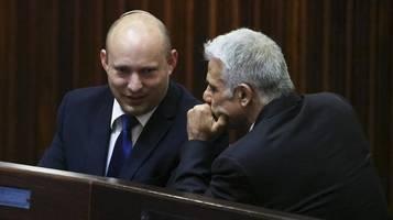 neue regierung in israel: sprengstoff wird in dieser koalition immer da sein