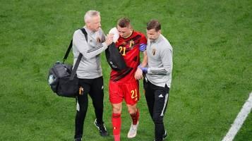 EM 2021: Aus für belgischen Spieler Timothy Castagne nach Augenhöhlenbruch