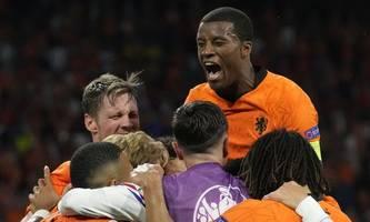 Oranjes Auftaktgala: 3:2-Sieg über Ukraine