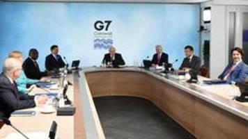 G7 versprechen mehr Geld für Klimaschutz in ärmeren Ländern