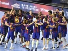 Handball: Barça krönt perfekte Saison mit Champions-League-Sieg