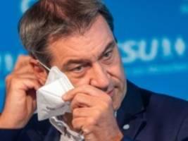 Coronavirus-Newsblog für Bayern: Söder gegen vorschnelle Lockerung bei Maskenpflicht