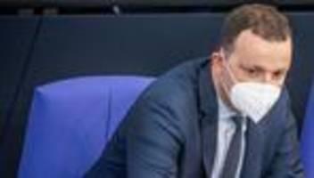 Corona-Maßnahmen: Jens Spahn für stufenweises Aufheben der Maskenpflicht