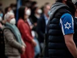 vorstoß zweier innenminister: antisemitismus-statistik soll genauer werden