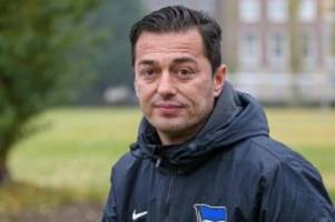 Fußball: Covic kehrt als U23-Cheftrainer zu Hertha BSC zurück