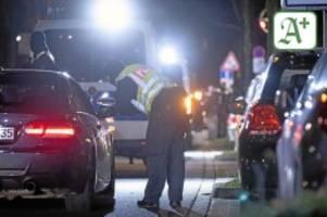 Prävention: Polizei kontrolliert verstärkt Drogen und Alkohol im Verkehr