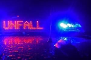 Unfälle: Transporter umgekippt: A 21 bei Wankendorf gesperrt