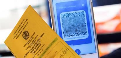 Digitaler Impfpass mit Startschwierigkeiten