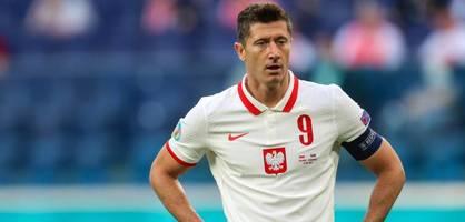 lewandowski enttäuscht bei slowakeis Überraschungssieg