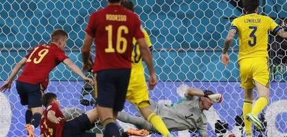 Schweden-Bollwerk ringt Spanien Punkt ab – Highlights im Video