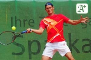 Tennis: Herren 40 vom THC Ahrensburg vor Endspiel um Staffelsieg