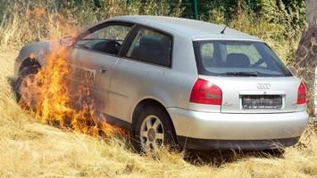 Brandgefahr: Wo Sie bei Hitze nicht parken sollten