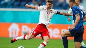 Fußball-EM - Fehlstart für Lewandowski: Polen verliert gegen die Slowakei