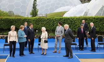 Große Worte sind genug gefallen: Pressestimmen zum G7-Gipfel