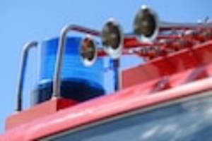Großeinsatz in Mainz - Brand im 14. Stock - Hochhaus wird evakuiert