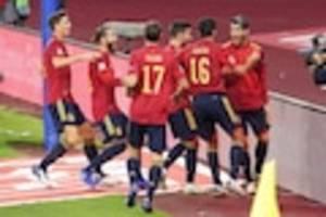 Fußball-EM - Spanien gegen Schweden im Live-Ticker: Harte Bewährungsprobe nach Corona-Stress