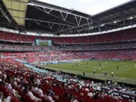 Fußball-EM 2021: Großbritannien erlaubt 40 000 Zuschauer für das Finale