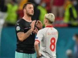 Fußball-EM: Nordmazedonischer Verband fordert Strafe für Arnautovic