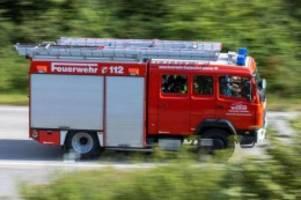 Brände: Waldstück brennt in Heidesee: Brandgefahr steigt mit Hitze