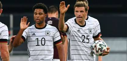 fußball-em 2021: thomas müller, serge gnabry, kai havertz - der angriff gegen frankreich
