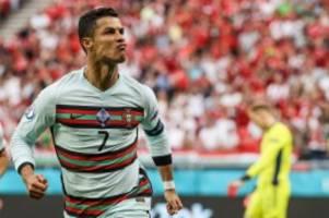 Fußball-EM 2021: Ronaldo zieht Platini davon - Portugiese feiert EM-Torrekord