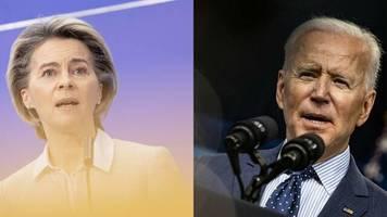 EU-USA-Gipfel: Biden in Brüssel: Honeymoon? Von wegen!