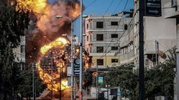 Nahost-Konflikt: Israel fliegt Luftangriffe auf Ziele im Gazastreifen