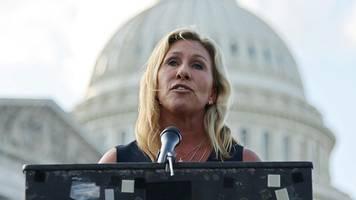 Trump-Anhängerin Marjorie Taylor Greene entschuldigt sich für Holocaust-Vergleich