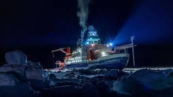 klimakrise: arktis-expedition liefert besorgniserregende erkenntnisse
