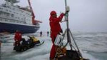 polarstern-mission: expeditionsleiter wirbt für mehr klimaschutz
