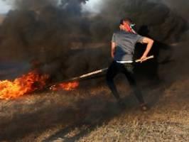 Reaktion auf Brandballons: Israel fliegt wieder Luftangriffe im Gazastreifen