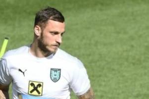 Fußball-EM: Arnautovic wegen Beleidigung für ein EM-Spiel gesperrt