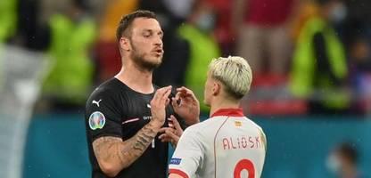 Fußball-EM 2021: Österreichs Marko Arnautović nach Beleidigung für ein Spiel gesperrt