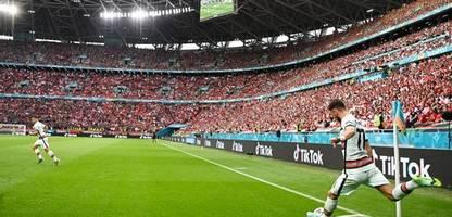 Fußball-EM 2021: Tausende Fans im Budapester-Stadion: So war es in der lautesten EM-Arena