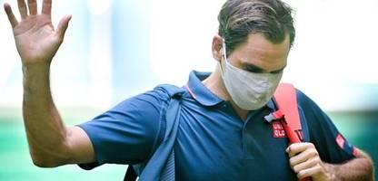tennis: roger federer scheitert beim turnier in halle so früh wie nie