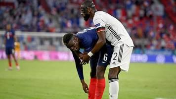 Frankreich-Sieg in München - Ein Freund: Pogba nimmt Rüdigers angedeuteten Biss locker