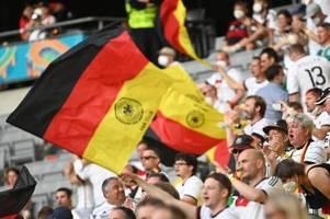 Die Fans sind zurück: Wie Zuschauer das erste EM-Spiel erlebten