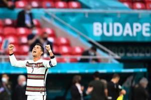 Ronaldo stellt weitere EM-Rekorde auf - Frust bei Ungarn