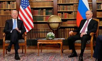Kürzer als geplant: Treffen von Biden und Putin endet nach drei Stunden