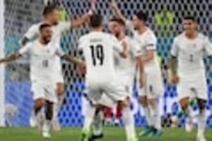 Fußball-EM - Italien - Schweiz im Live-Ticker: Azzuri kann schon ins Achtelfinale