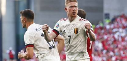 Fußball-EM 2021: Belgien schlägt Dänemark und steht im Achtelfinale