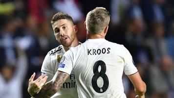 Trennung von Real - Kroos-Huldigung an Ramos: Bester! Verteidiger! Jemals!