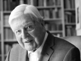 interview mit hans maier zum 90. geburtstag: ich habe eigentlich genug hoffnung gespeichert