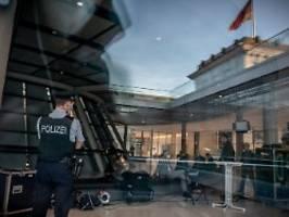 hitlergruß im pausenraum: rechte vorfälle bei der bundestagspolizei?