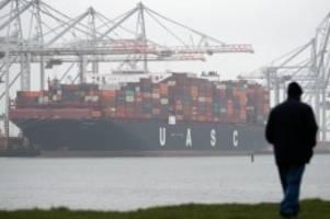 Handel: Lebensmittelexporte in die EU nach Brexit stark gesunken