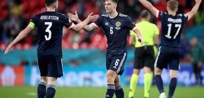 fußball-em 2021: schottland punktsieger beim remis mit england