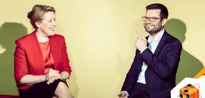 Franziska Giffey und Marco Buschmann: »Entschuldigung, das ist jetzt eine unangenehme Antwort für Sie«