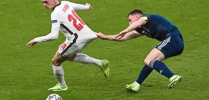 Fußball-EM 2021: England mit schwacher Leistung beim Remis gegen Schottland