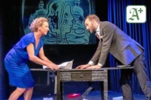 bühne: starke inszenierung aus einem wenig bekannten theater