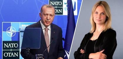 solange erdogan da ist, kann es nur einen umgang mit der türkei geben
